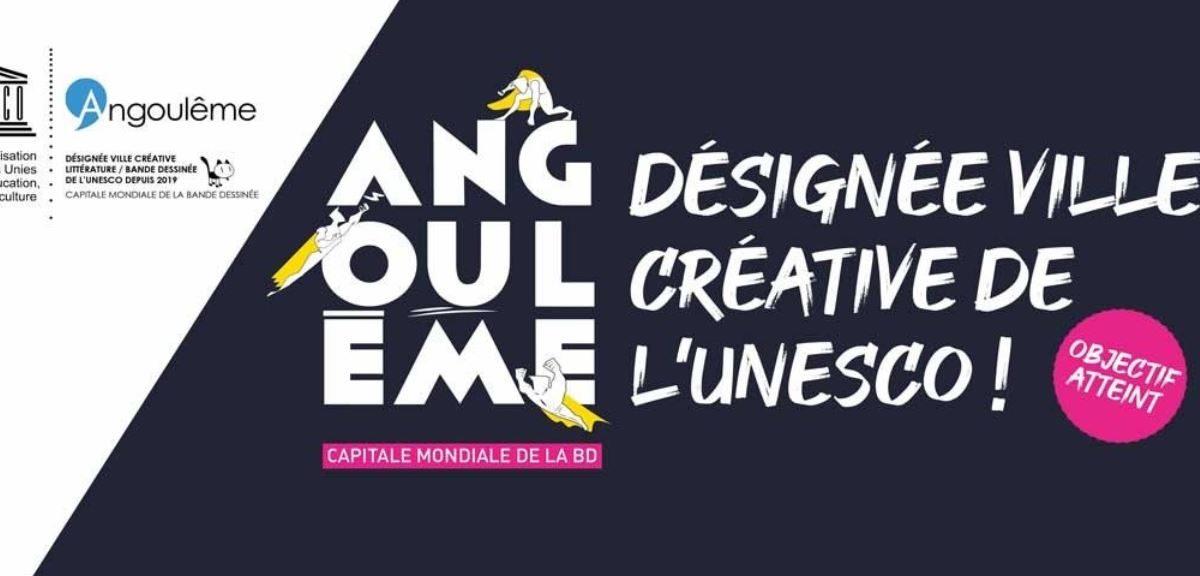 Angoulême désignée ville créative de l'UNESCO ! - Thomas Mesnier